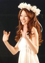 モデルの森貴美子 (C)ORICON DD inc.