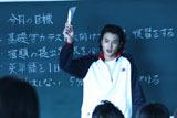 映画『告白』のワンシーン 熱血教師・ウェルテル役の岡田将生(C)2010「告白」製作委員会