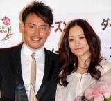 『2010 よい夫婦の日 ナイス・カップル大賞』を受賞した皆川賢太郎&上村愛子夫妻 (C)ORICON DD inc.