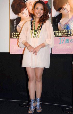映画『17歳の肖像』試写会イベントに出席した三船美佳 (C)ORICON DD inc.