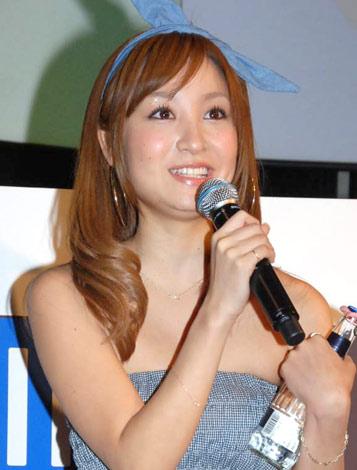 低アルコール飲料『Kiss A-ZIMA』のCM発表会に出席した木口亜矢 (C)ORICON DD inc.
