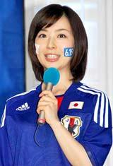 『2010FIFAワールドカップ南アフリカ』の記者会見に出席した松尾由美子アナウンサー (C)ORICON DD inc.