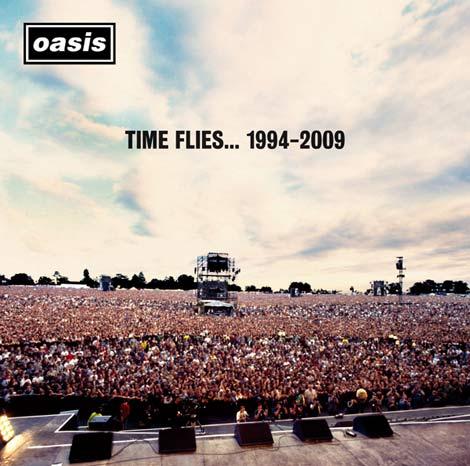 歴代シングル曲全てを網羅した究極のベストアルバム『タイム・フライズ・・・1994-2009』ジャケット写真