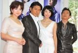 (左から)斉藤由貴、高橋克典、黒木瞳、三上博史 (C)ORICON DD inc.