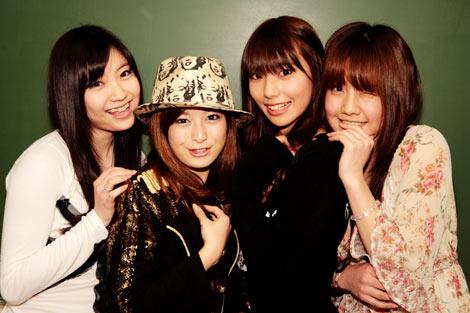 写真左から矢島潤奈、山口ひかり、熊井智津子、善天間みさき
