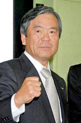 映画『お墓に泊まろう!』の会見に出席した島田昌幸テレビ東京代表取締役社長