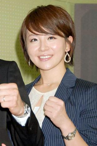 映画『お墓に泊まろう!』の会見に出席した大橋未歩アナウンサー (C)ORICON DD inc.