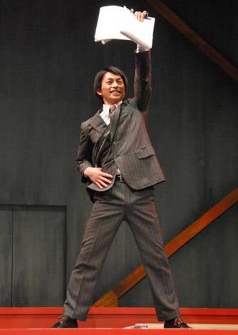 舞台『NOW LOADING』の公開リハーサルを行った、D-BOYSの遠藤雄弥 (C)ORICON DD inc.