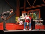 舞台『NOW LOADING』の公開リハーサルを行った、D-BOYSの(左から)遠藤雄弥、和田正人、山田悠介 (C)ORICON DD inc.