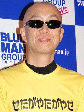ブルーマングループのプレビュー公演を観覧したサンプラザ中野くん (C)ORICON DD inc.