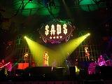 7年ぶりとなるライブ『ゴシックサーカス』を開催したsadsの(左から)クボタケイスケ(Ba)、清春(Vo)、GO(Dr)、K-A-Z(Gt)