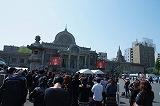 東京・築地本願寺の様子