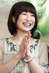 米映画『9<ナイン>〜9番目の奇妙な人形』のイベントで笑顔を見せるおかもとまり (C)ORICON DD inc.