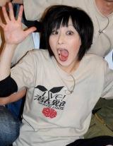 お笑いライブ『LIVE!潜在異色 特別版』公演後取材に応じた鳥居みゆき (C)ORICON DD inc.