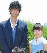 次期クールの新ドラマ『ハンマーセッション!』(TBS系)で主演を務める身長差約40cmの速水もこみちと志田未来  (C)ORICON DD inc.
