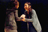舞台『甘え』の舞台稽古の模様