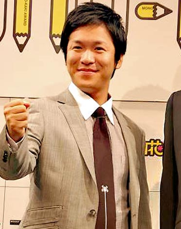 『MONO-KAKI大賞』開催発表会見に出席したはんにゃの川島章良 (C)ORICON DD inc.