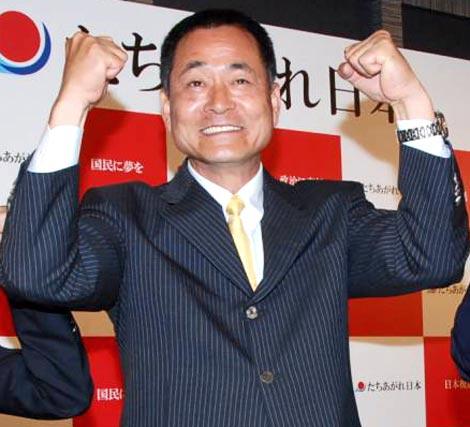 新党「たちあがれ日本」からの参院選比例区出馬を表明した中畑清氏 (C)ORICON DD inc.