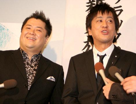 映画『冷たい雨に撃て、約束の銃弾を』のトークイベントに出席したブラックマヨネーズの(左から)小杉竜一と吉田敬 (C)ORICON DD inc.