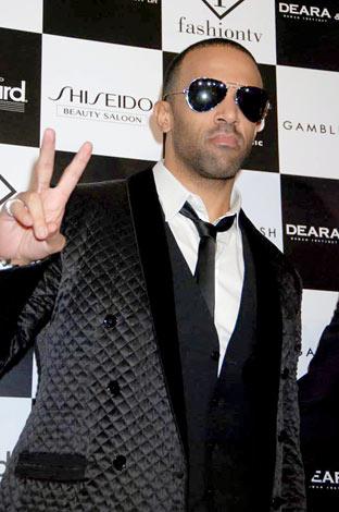 都内で行われたファッションショー&ライブイベントに参加した英R&Bシンガーのクレイグ・デイヴィッド (C)ORICON DD inc.