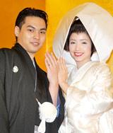 柳楽優弥&豊田エリー夫妻(写真は1月に行われた挙式の模様) (C)ORICON DD inc.