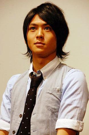 映画『音楽人』の公開記念イベントに出席した、主演の佐野和真 (C)ORICON DD inc.