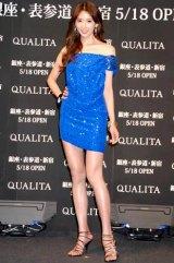 旅行ブランド『QUALITA(クオリタ)』の新CM発表会に出席したリン・チーリン (C)ORICON DD inc.