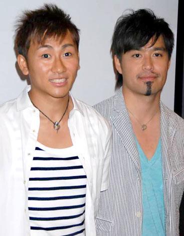 映画『リメンバーホテル』のプレミア試写会に出席したキマグレンの(左から)KUREIとISEKI (C)ORICON DD inc.