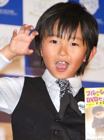 映画『かいじゅうたちのいるところ』のBD&DVDセット発売記念イベントに出席した加藤清史郎 (C)ORICON DD inc.