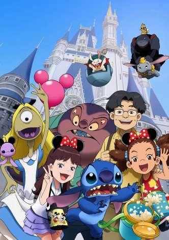 画像写真 27年目で初 東京ディズニーランドがアニメの舞台に 1枚目