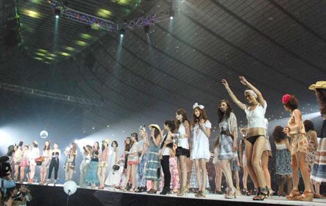 大盛況に終わった『Girls Award 2010』 (C)ORICON DD inc.