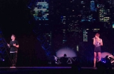 日本最大級のファッション&音楽イベント『Girls Award 2010』に出演したSouljaと青山テルマ (C)ORICON DD inc.