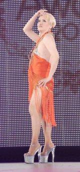 日本最大級のファッション&音楽イベント『Girls Award 2010』に出演したIKKO (C)ORICON DD inc.