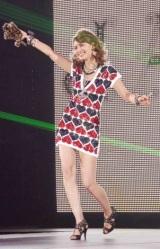 日本最大級のファッション&音楽イベント『Girls Award 2010』に出演した加藤夏希 (C)ORICON DD inc.
