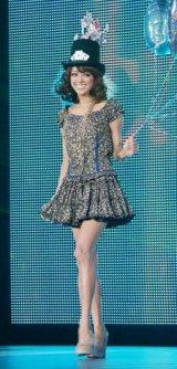 日本最大級のファッション&音楽イベント『Girls Award 2010』に出演した松本莉緒 (C)ORICON DD inc.