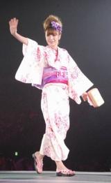 日本最大級のファッション&音楽イベント『Girls Award 2010』に出演した木下優樹菜 (C)ORICON DD inc.