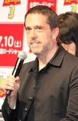 映画『トイ・ストーリー3』の記者会見に出席したリー・アンクリッチ監督
