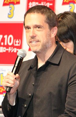 映画『トイ・ストーリー3』の記者会見に出席したリー・アンクリッチ監督 (C)ORICON DD inc.