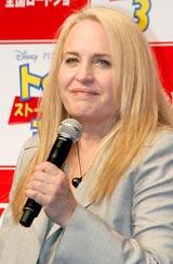 映画『トイ・ストーリー3』の記者会見に出席したプロデューサーのダーラ・K・アンダーソン氏