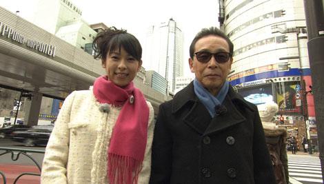 NHK『ブラタモリ』の新シリーズがスタート、六本木を訪れたタモリ(右)と久保田祐佳アナウンサー