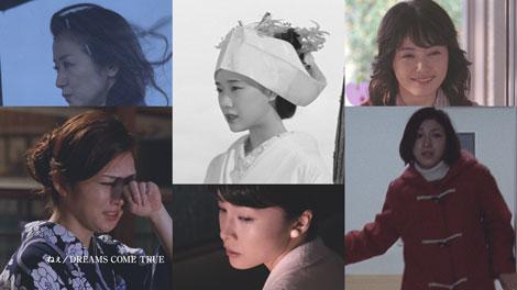 6人の豪華女優陣が出演する『TSUBAKI』(資生堂)新CM