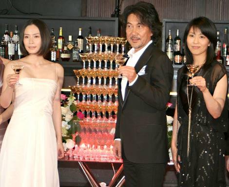 1日限りの『中島哲也映画祭』に出席した(左から)中谷美紀、役所広司、松たか子 (C)ORICON DD inc.