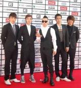 『MTV WORLD STAGE VMAJ 2010』のレッドカーペットイベントに出席したBIGBANG (C)ORICON DD inc.