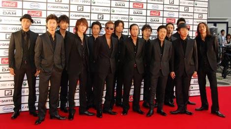 『MTV WORLD STAGE VMAJ』で3年連続3冠受賞を達成したEXILE (C)ORICON DD inc.