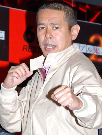 映画『リアル鬼ごっこ2』公開記念イベントに出席したデンジャラスのノッチ (C)ORICON DD inc.