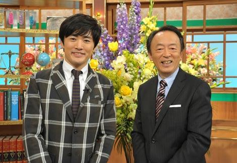 『そうだったのか! 池上彰の学べるニュース』に出演する劇団ひとり(左)と池上彰