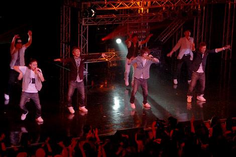 ダンスイベント『UNITED〜RISING DANCE FESTIVAL〜』に出演したLead (C)ORICON DD inc.