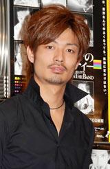 舞台『真夜中のパーティー』の製作発表に出席した中村昌也