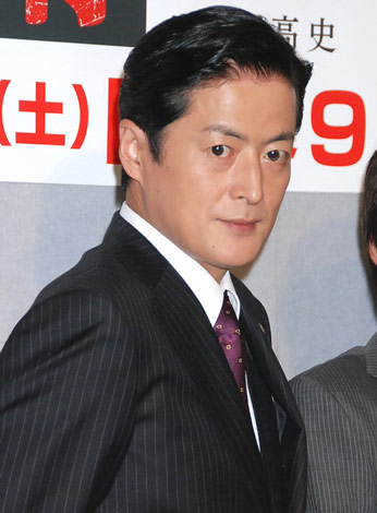 NHKドラマ『鉄の骨』の会見に出席した陣内孝則 (C)ORICON DD inc.