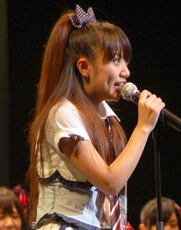 AKB48『第2回 選抜総選挙』6位の高橋みなみ (C)ORICON DD inc.